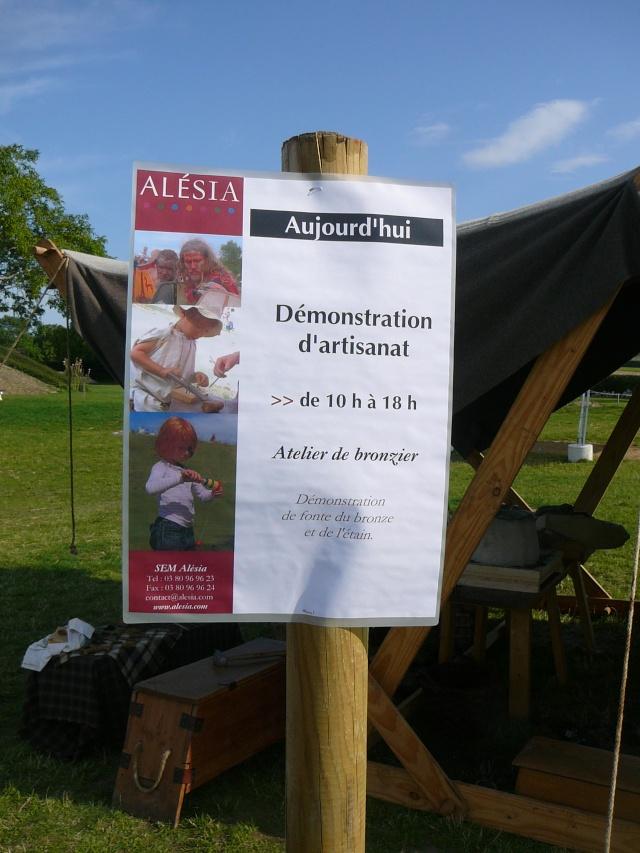 Artisans d'histoire à Alésia - Aout 2011 P1210110