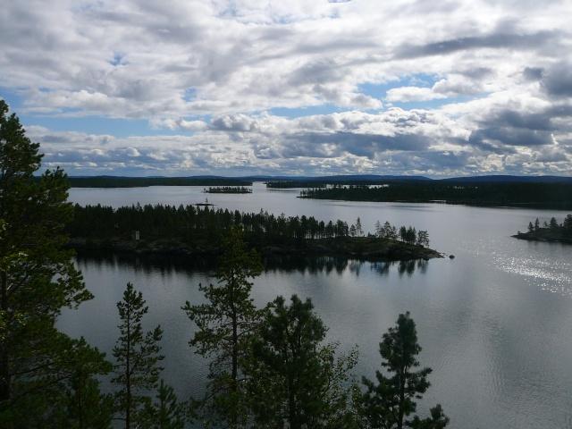 Quelques vues de Laponie Finlandaise.... P1210311