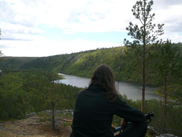 Quelques vues de Laponie Finlandaise.... P1210315