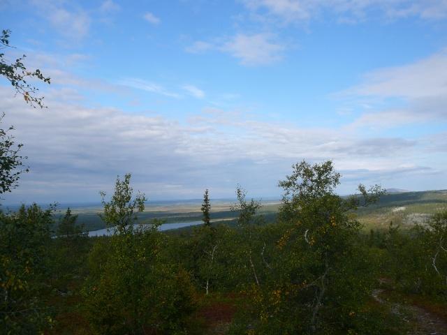 Quelques vues de Laponie Finlandaise.... P1210411