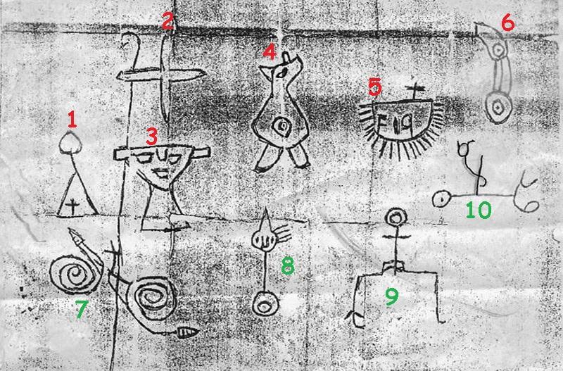 Petroglifo En Sinola cerca de Mazatlán, ¿has visto esto? Numero10