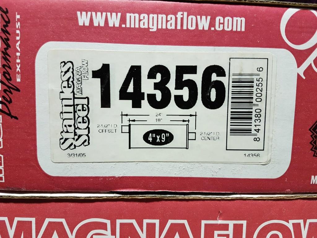 ( VENDU ) 2 x Magnaflow 14356 Stainless poli 2.5 pouces _2018110