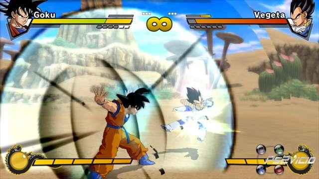 La demo de Dragon Ball Z Burst Limits en Xbox Live Dragon11