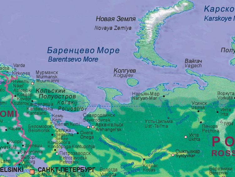 Arkhangelsk Map-ru10