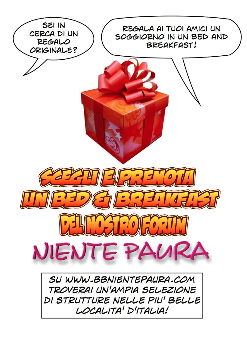 LAST MINUTE  E OFFERTE DEI BED & BREAKFAST DEL FORUM Regalo10
