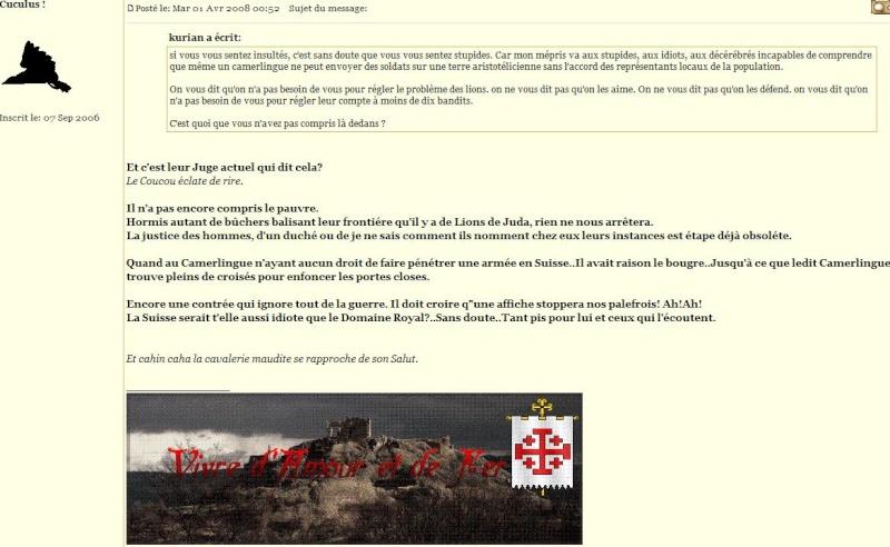 [RP] Les Tribulations d'un Teutonique de la Chaux de Fonds - Page 2 Cuculu10