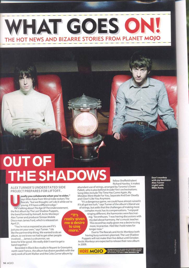 The Last Shadow Puppets 1-110