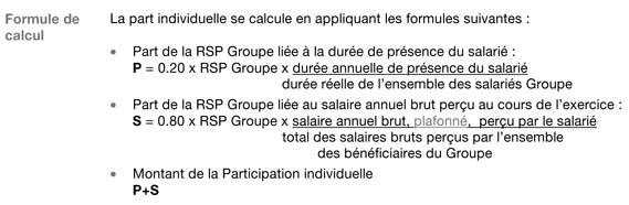 L'accord de participation FT. Calcul11