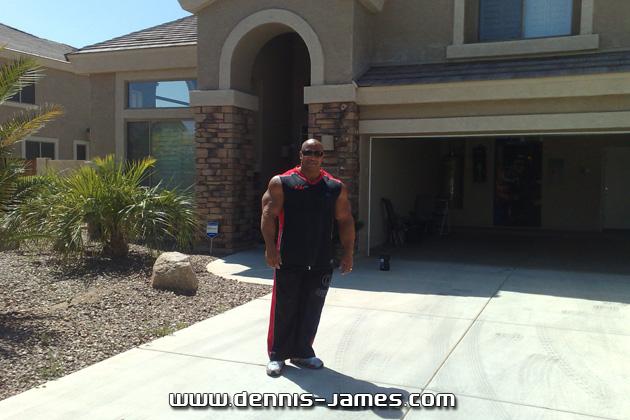 Dennis James et sa nouvelle maison Dennis12