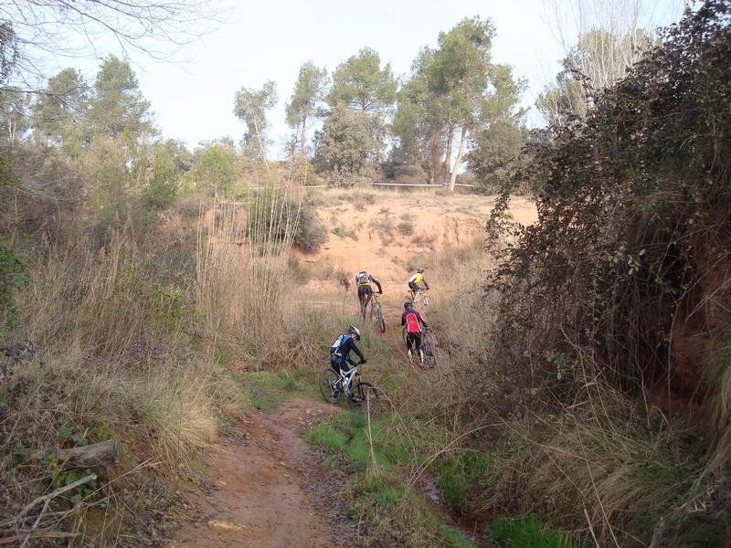 Dissabte 15-03-2008 Per Castellnou Dsc02217