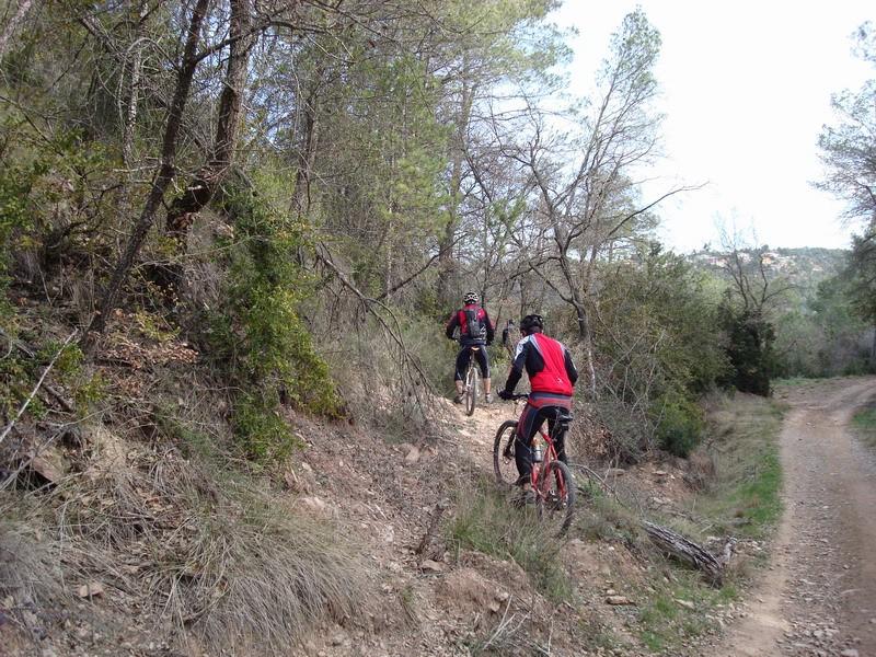 Dissabte 16-03-2008 Per les Torres de Fals Dsc02431