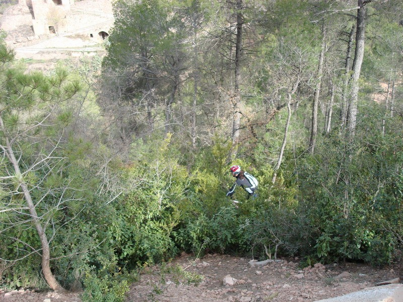 Dissabte 16-03-2008 Per les Torres de Fals Dsc02433