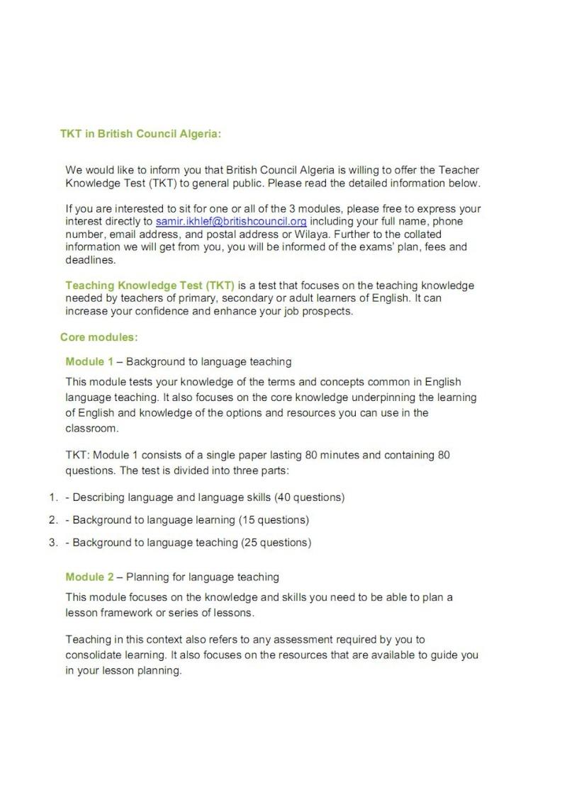test - TKT (Teaching Knowledge Test) Tkt_in10
