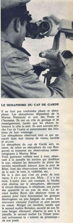 [Les Sémaphores d'Afrique du Nord] Le Sémaphore du CAP de Garde (Algérie) 90920011