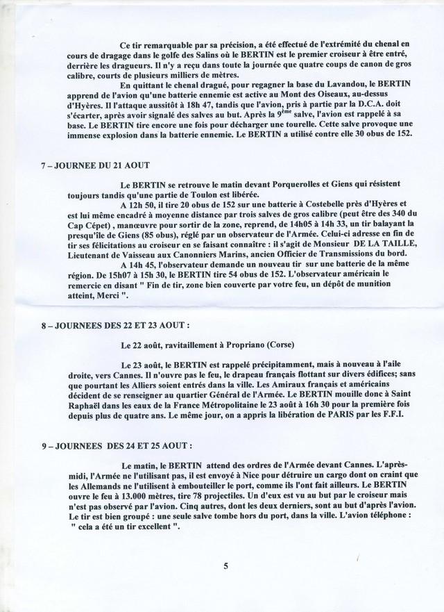 EMILE  BERTIN (Croiseur) - Page 2 Bertin19