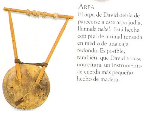 Instrumentos musicales y Antiguo Testamento Arpa10