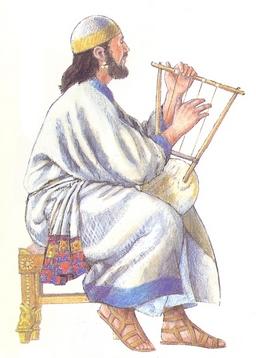 Instrumentos musicales y Antiguo Testamento Arpa_210