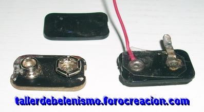 Conector tipo pila de petaca Conect13