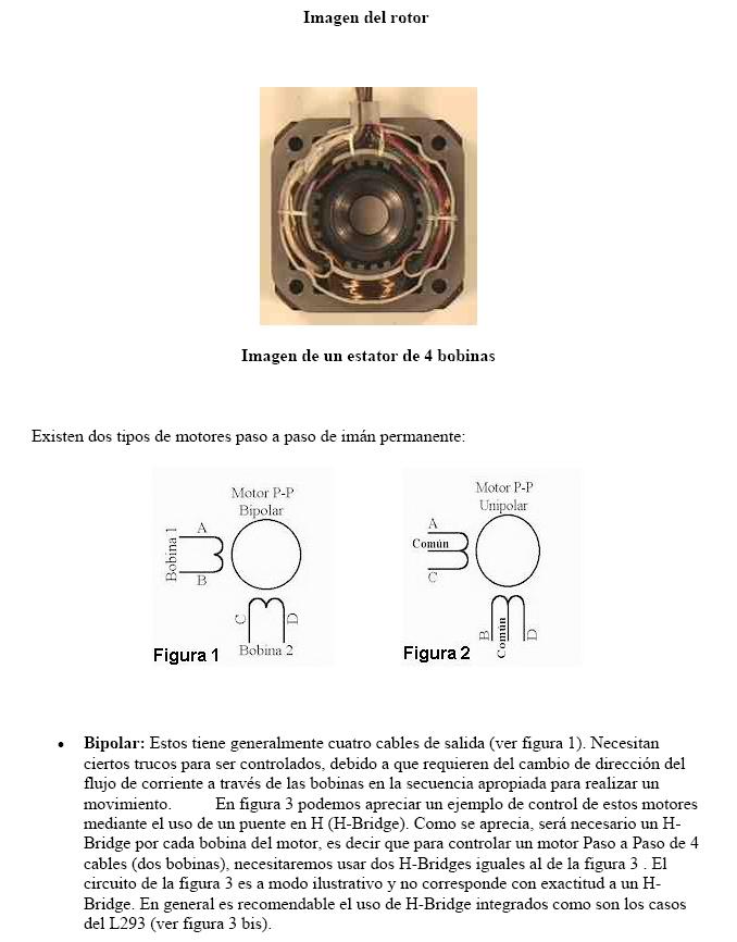 Motores paso a paso (impresora) Motore11