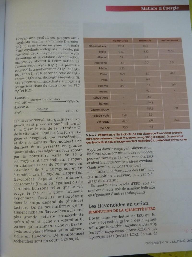 flavonoïdes et lutte contre le stress oxydant P1190957