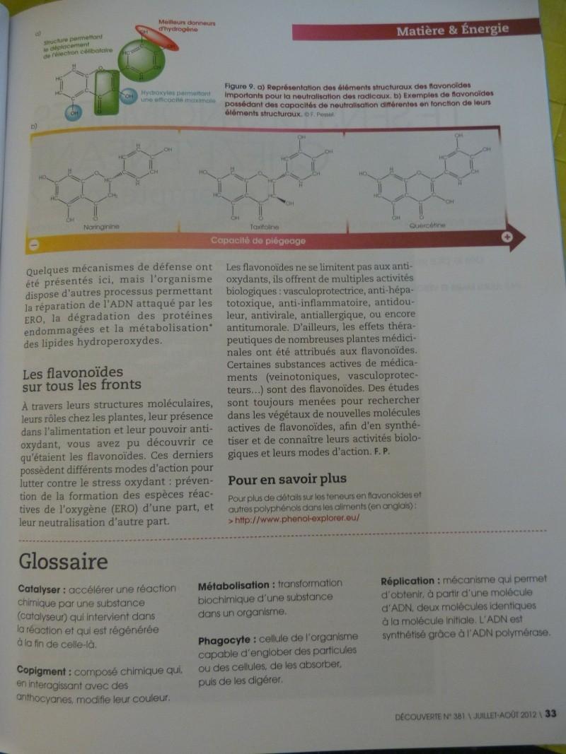 flavonoïdes et lutte contre le stress oxydant P1190961