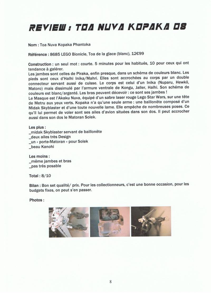 BIONICLE Legends : le magazine - Page 2 Ccf20016