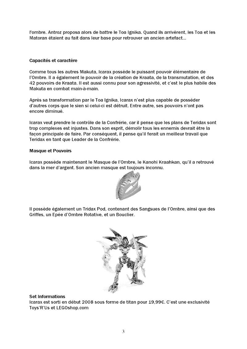BIONICLE Legends : le magazine - Page 7 Le_mag18