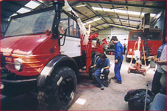 Estat actual dels camions 22c110
