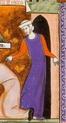 FEMME : Tenues vestimentaires XIIème et XIIIème siècles 12046010