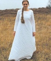 FEMME : Tenues vestimentaires XIIème et XIIIème siècles Chains11
