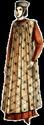FEMME : Tenues vestimentaires XIIème et XIIIème siècles Period10