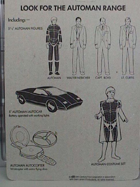AUTOMAN  (Acamas Toys) 1983 Automa11