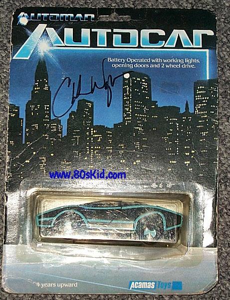 AUTOMAN  (Acamas Toys) 1983 Automa17
