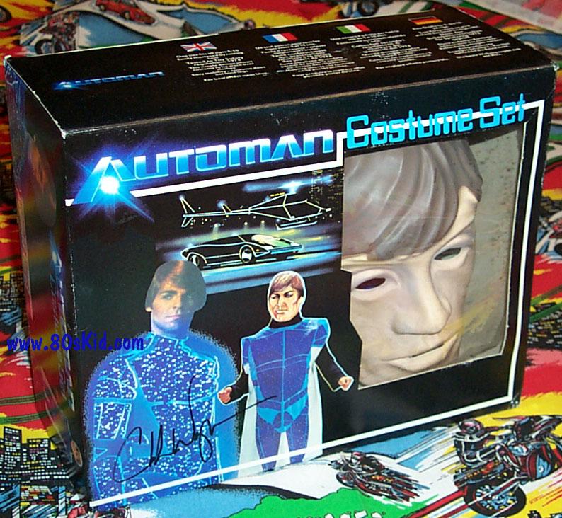 AUTOMAN  (Acamas Toys) 1983 Automa18