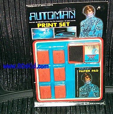 AUTOMAN  (Acamas Toys) 1983 Automa22