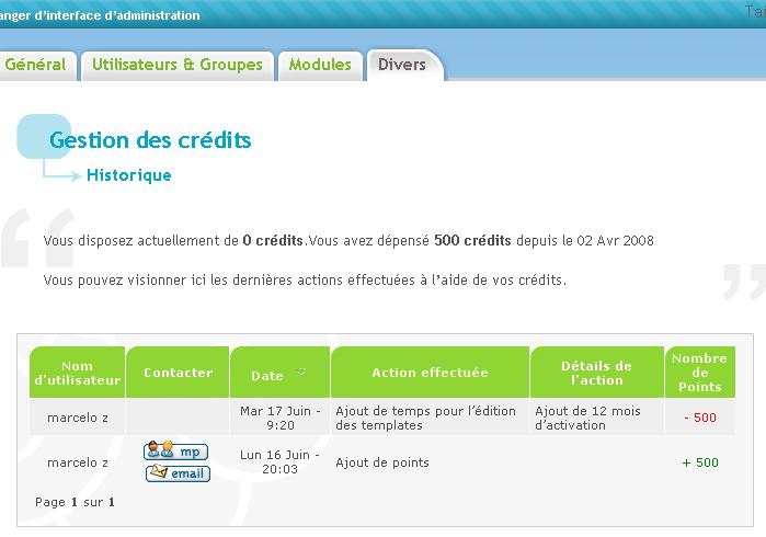 acheter 500 credits pour gerer mes templates 12 mois Templa13