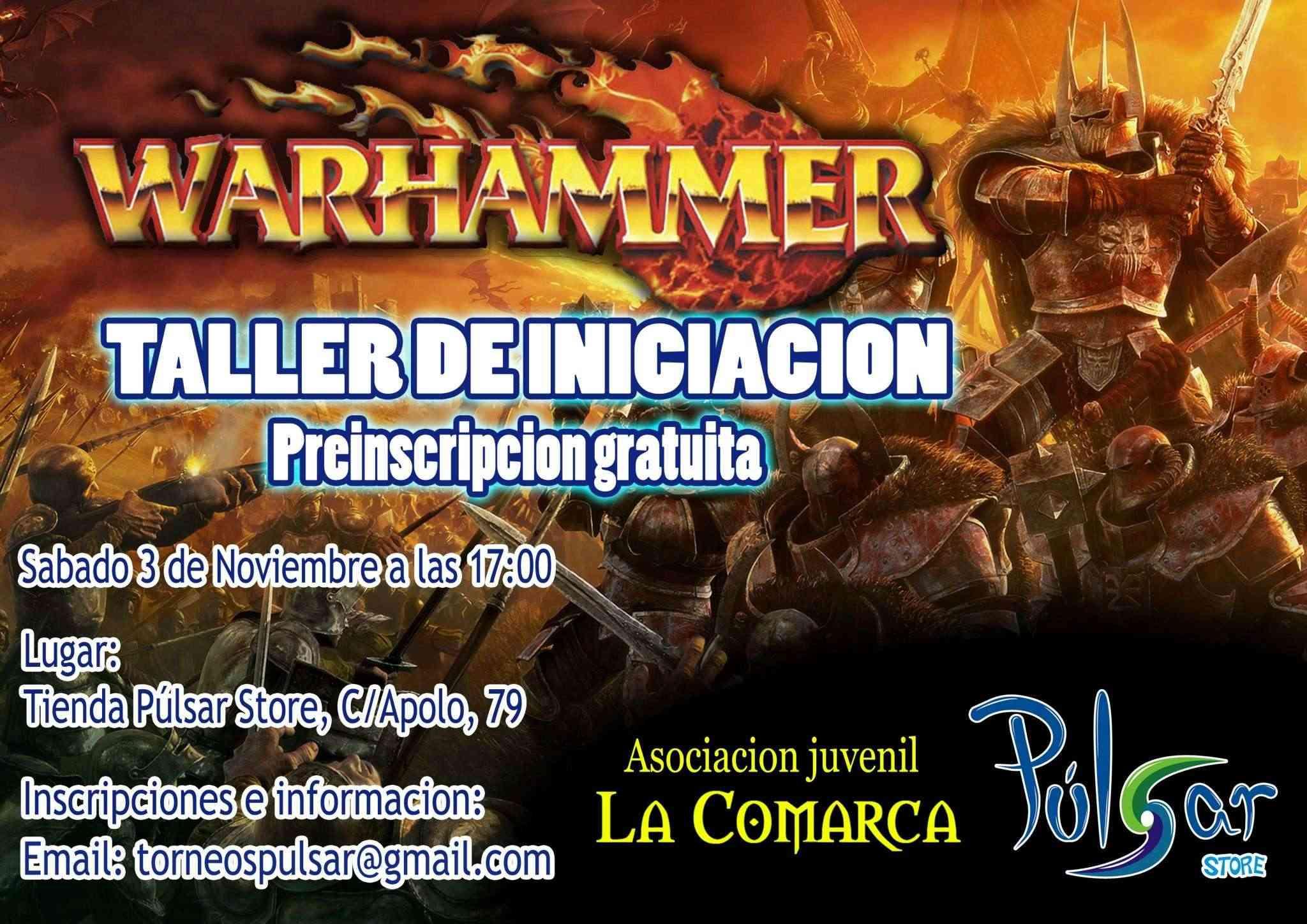 Taller de Iniciación a Warhammer Fantasy 17869510