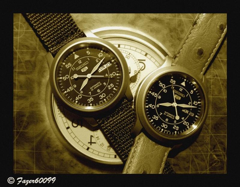 Porter des montres de modèles similaires P9291310