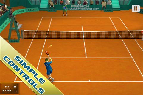 [JEU] CROSS COURT TENNIS : Enfin un jeu de Tennis [Démo/Payant] Cross-10