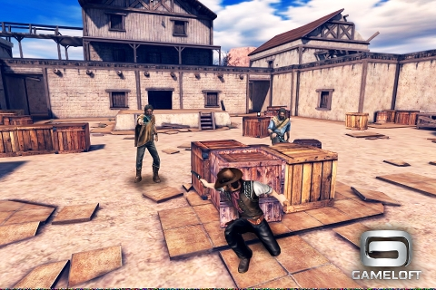[JEU] SIX-GUNS : Red Dead Redemption revue par Gameloft [Gratuit] Six_gu11