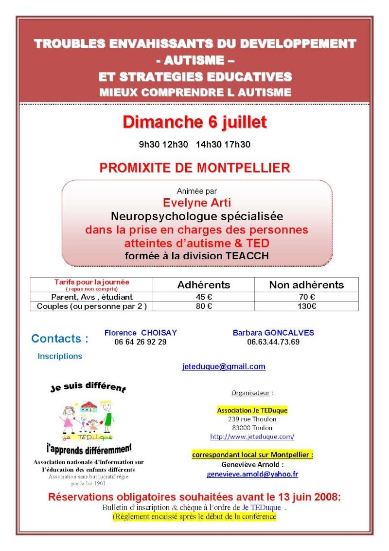"""dp34 : TED , autisme : stratégies éducatives"""" 07_mon10"""