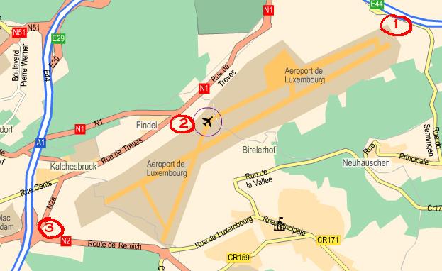 Sortie à l'Aéroport de Luxembourg Carte_10
