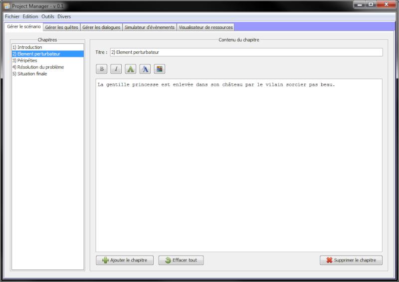 [En développement] Project Manager Projec11
