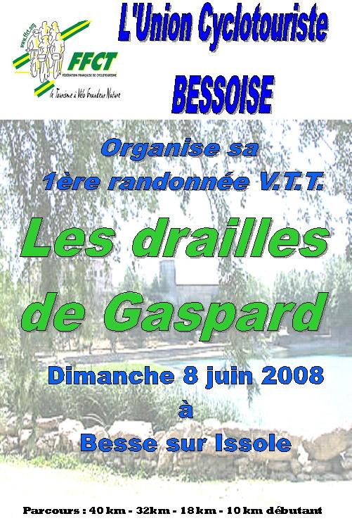 Les drailles de Gaspard Affich10