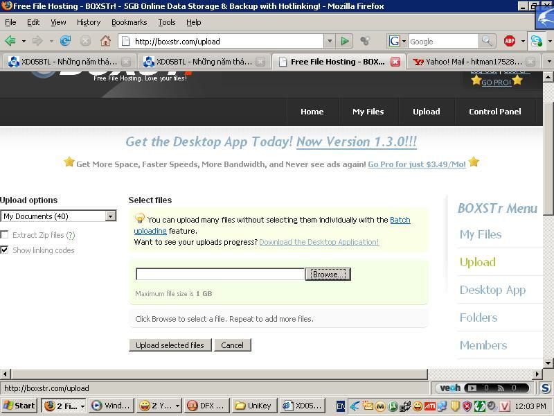 default Cách post file lên diễn đàn Up110