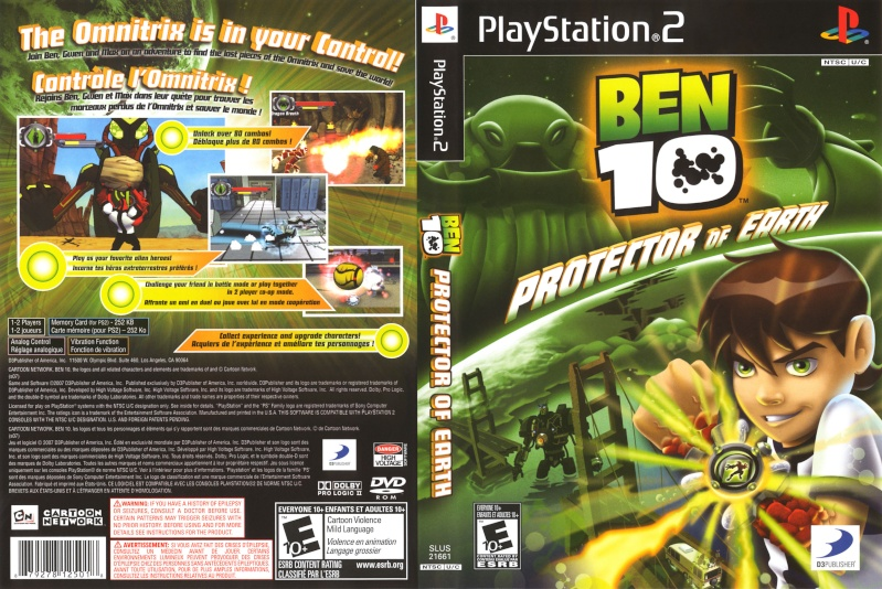 Ben 10: Protector of Earth [PS2] Ben_1010