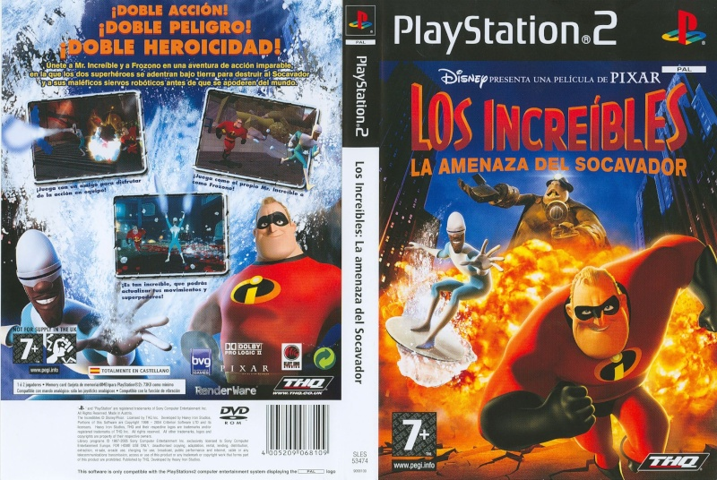 THE INCREDIBLES 2: RISE OF THE UNDERMINER, [DVD][NTSC][INGLES][RS] Los_in10