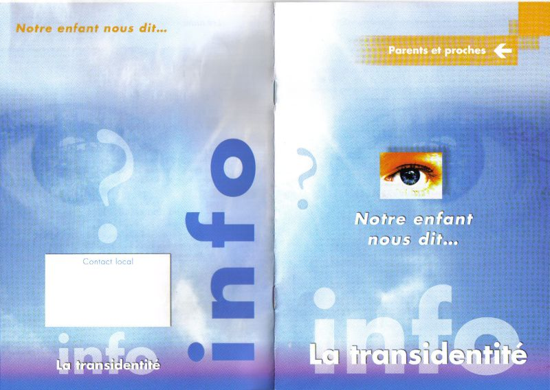 Brochure pour accompagner les parents de trans Transp10