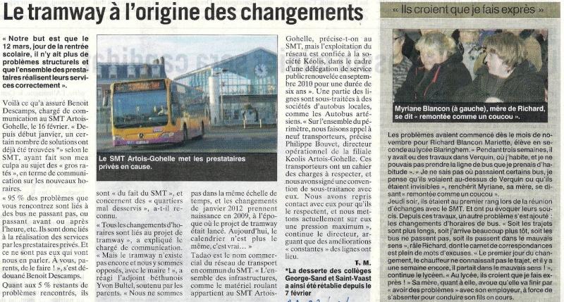 RAMASSAGE SCOLAIRE Place de l'Europe Bus_ca10