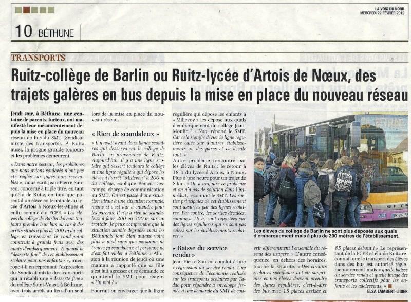 RAMASSAGE SCOLAIRE Place de l'Europe Bus_ta14